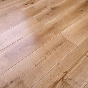 125mm x 18mm Oak Lacquered Engineered Wood Flooring
