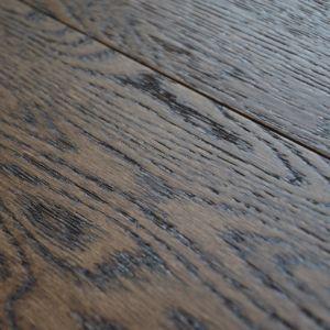127mm Smokey Oak Brush & Lacquered Engineered Wood Flooring
