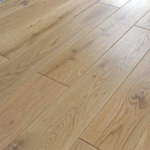 150mm x 14mm Oak Lacquered Engineered Wood Flooring