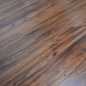 127mm Acacia Walnut Lacquered Engineered Wood Flooring