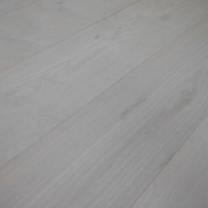 190mm x 14/3mm Random Lengths Italian Grey Oak Lacquered Classic Engineered Click Wood Flooring