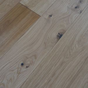 190mm x 14mm Brushed & Oiled Oak Classic Engineered Wood Flooring