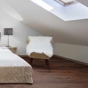 150mm x 14mm Walnut Stain Oak Engineered Wood Flooring