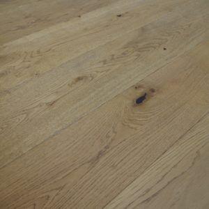 190mm x 14/3mm x 1900mm Golden Brushed & Matt Lacquered Rustic Grade Engineered Wood Flooring