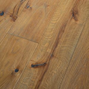 220mm x 15/4mm x 2200mm Antique Grey Oiled Distressed Engineered Oak Flooring