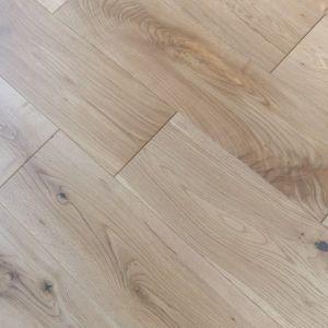 150mm x 18/4mm Rustic Oak Brush & Oiled Engineered Multiply Wood Flooring
