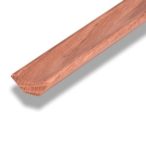 Lacquered Solid Wood Flooring Scotia Edging 2.4m