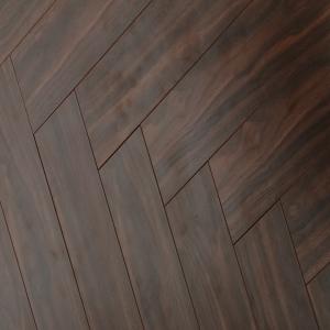 Versailles Walnut Herringbone Laminate Flooring 12mm