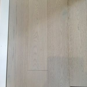190mm x 14/3mm Random Lengths Click White Lacquered Oak Classic Engineered Wood Flooring