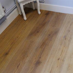 Titan Nutmeg Brown SPC Long Plank Engineered Vinyl Click Flooring 228mm x 6.5mm x 1524mm