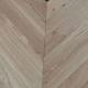 90mm x 15/4mm x 750mm Oak Matt Lacquered Chevron Engineered Rustic Flooring