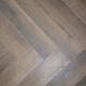 Chesnut Brown SPC Herringbone Engineered Vinyl Click Flooring 126mm x 6mm x 630mm