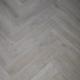 Misty Smoked SPC Herringbone Engineered Vinyl Click Flooring 126mm x 6mm x 630mm