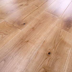 125mm x 18mm Oak Lacquered Engineered Wood Flooring