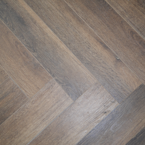 Chesnut Brown SPC Herringbone Engineered Vinyl Click Flooring 126mm x 6mm x 630mm