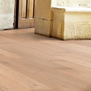 190mm x 14mm Invisible Brush & Lacquered Oak Classic Engineered Wood Flooring