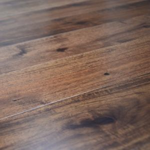 127mm Acacia Walnut Lacquered Engineered Wood Flooring