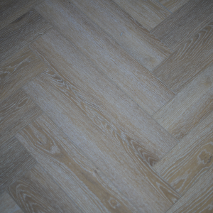 Honey Oak SPC Herringbone Engineered Vinyl Click Flooring 126mm x 6mm x 630mm