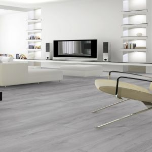 Atlas Grey Oak Anthracite Kronotex Laminate Flooring 12mm