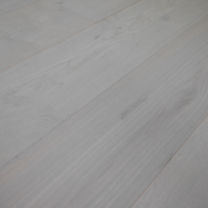 190mm x 14/3mm Random Lengths Italian Grey Oak Lacquered Classic Engineered Click Wood Flooring