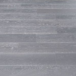 127mm Oak Grey Brush & Lacquered Engineered Wood Flooring