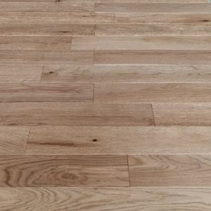 127mm x 13/2.5mm x random lengths Oak Brush & Lacquered Rustic Grade Engineered Wood Flooring