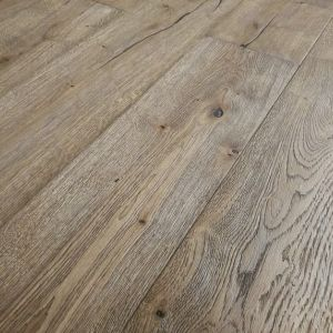 190mm x 15/4mm x 1900mm Bronx Distressed Engineered Oak Flooring Oiled