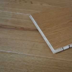 125mm x 14/3mm Oak Brush & Lacquered Engineered Wood Flooring