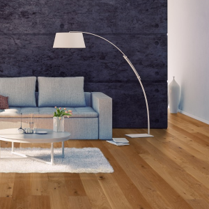 190mm x 14mm Lacquered Oak Classic Engineered Wood Flooring