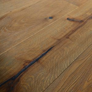 220mm x 15/4mm x 1900mm Antique Grey Oiled Distressed Engineered Oak Flooring