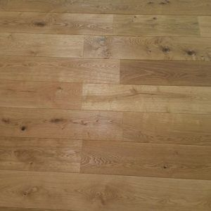 Brushed and Oiled Multi-Ply Engineered Oak Flooring 190mm x 18mm
