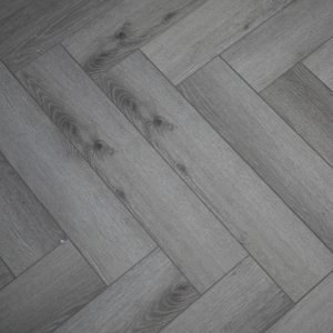 Pearl Grey SPC Herringbone Engineered Vinyl Click Flooring 126mm x 6mm x 630mm