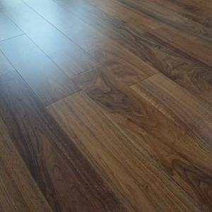 150mm x 14mm Walnut Lacquered Engineered Wood Flooring