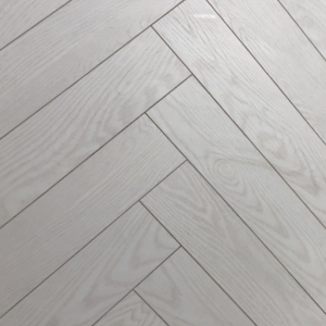 White Oak Herringbone Laminate Flooring 12mm