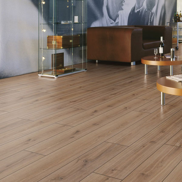 Saverne Grey Oak Kronotex Robusto Laminate Flooring 12mm | Floorsave