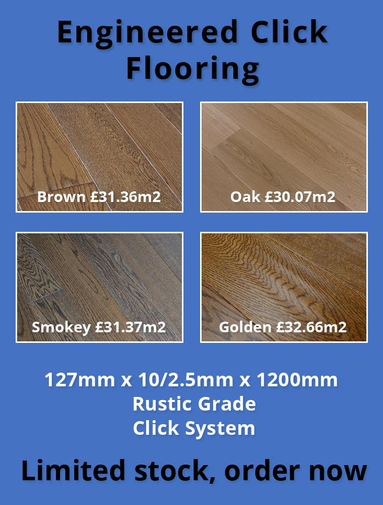 Engineering Click flooring