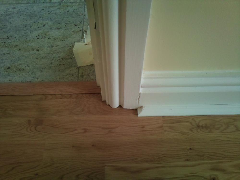 How To Undercut Architrave Blog, Best Way To Cut Laminate Flooring Around Door Frames