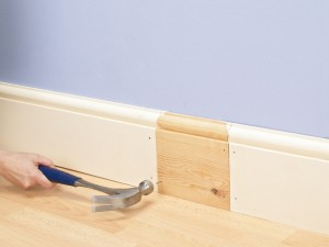 How to Fit Skirting Board - Image courtesy by: diynetwork.com