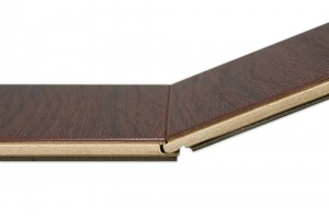 Benefits of a thicker laminate flooring board - Image courtesy by: builddirect.com