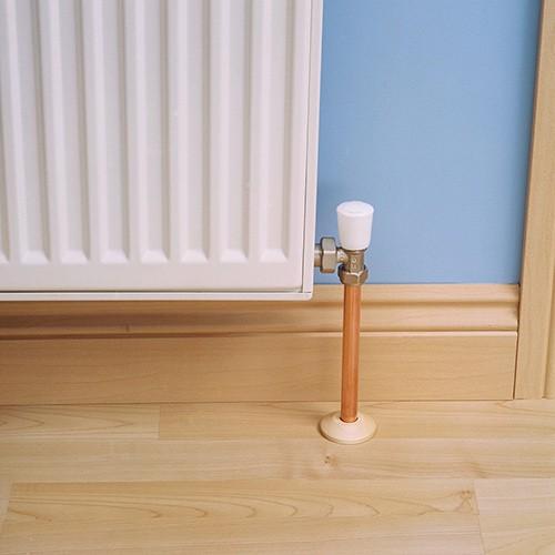 Radiator Pipe Covers Blog Floorsave, How To Install Laminate Flooring Around Radiators