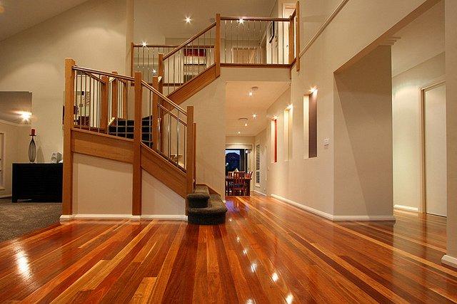 Shining Floors Stunning Staircase