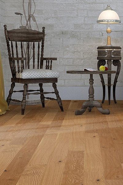 Real SOLID WOOD Flooring